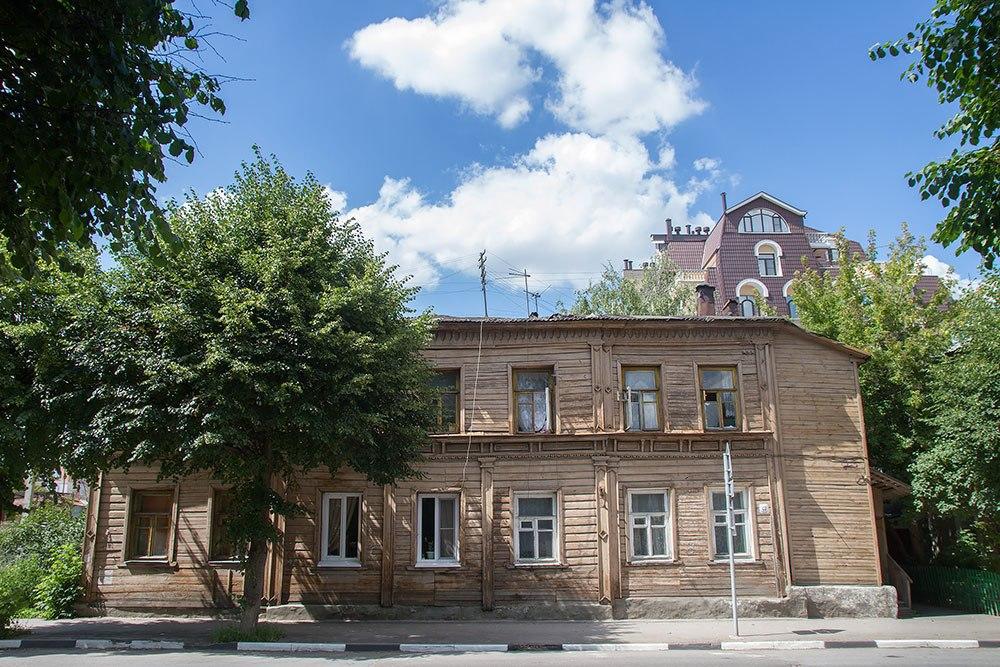 ВРязани пока небудут сносить дом, вкотором, предположительно, жил Циолковский